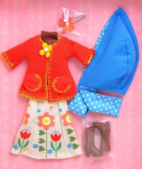 Takara Blythe Shop Limited Dress Set -  Fall Whisper