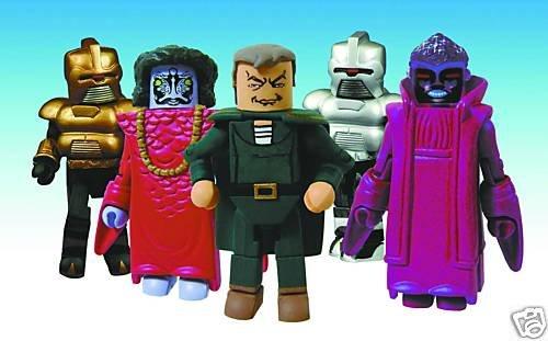 Battlestar Galactica BSG Cylon Empire Minimates Box Set