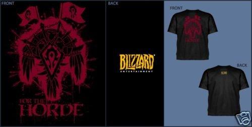 World of Warcraft Horde Crest T-Shirt Size XXL