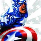 Captain America Star Man T-Shirt Size XL