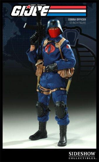 Sideshow G.I. Joe Cobra Officer 12 inch Figure