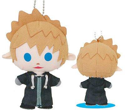 Square Enix Kingdom Hearts Mini Stuffed Roxas Keychain