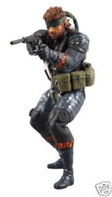 """Medicom UDF Metal Gear Solid 3 SNAKE MGS3 7"""" Figure"""