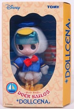 Disney Tomy Dollcena Duck Sailor Doll