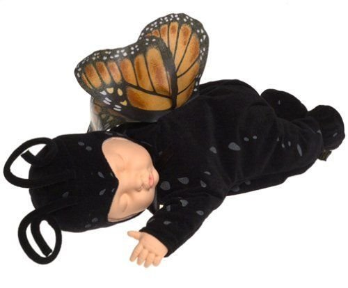 "Anne Geddes 15"" Baby Butterfly Black Collectible Doll"