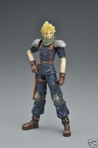 CRISIS CORE FINAL FANTASY VII PLAY ARTS CLOUD STRIFE