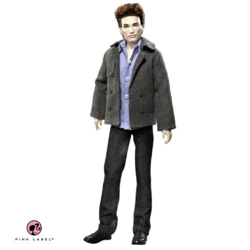 Mattel Barbie Pink Label Twilight Edward Collector Doll