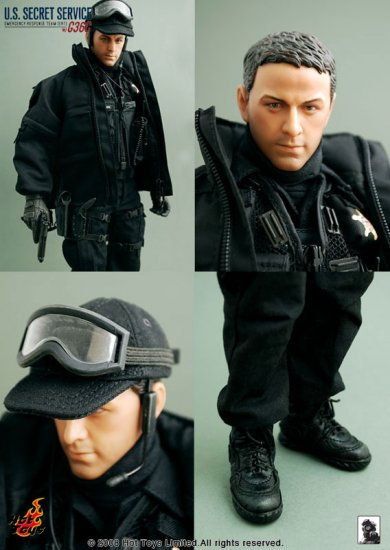 Hot Toys US Secret Service-Emergency Response Team (ERT) w/G36C