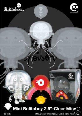 "Toy2R Mini Rolitoboy 2.5"" Clear Mind Vinyl Figure"