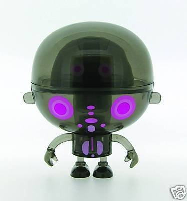 "Toy2R Mini Rolitoboy 2.5"" Clear Mind Black Vinyl Figure"