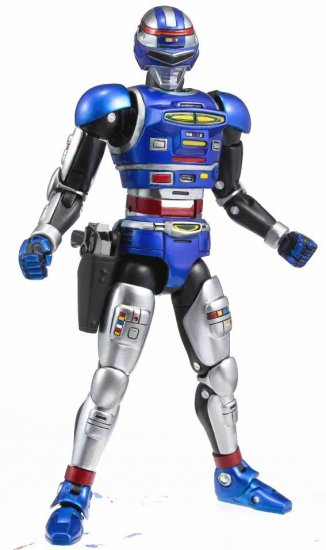 Megahouse Action Works Space Sheriff Shaider Figure