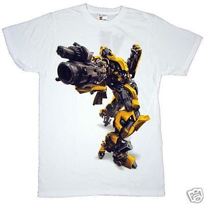 Transformers Movie Bumblebee Sheer T-shirt Size MED