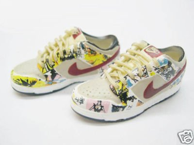 """1/6 Nike Sports Shoe Sneakers For 12"""" Figures (00140)"""