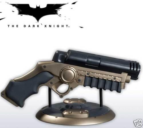 BATMAN DARK KNIGHT GRAPPLING LAUNCHER PROP REPLICA