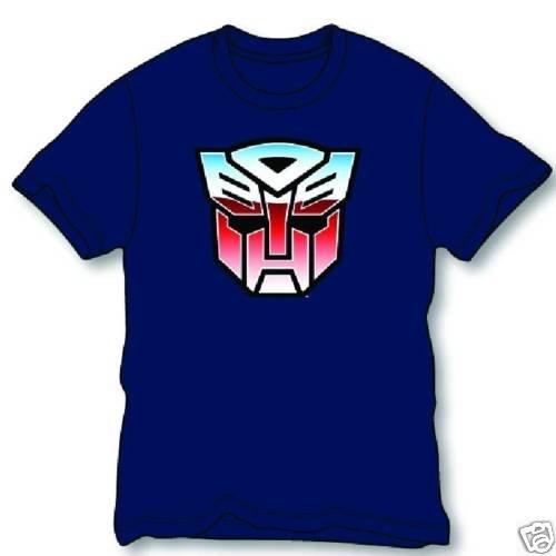 Transformers Autobot Core Logo T-Shirt Tee Size XL