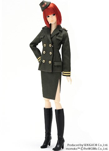 Momoko Doll Vote by Fan Military 1/6 Real Fashion Doll