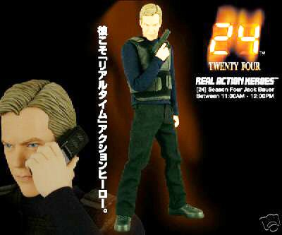 Medicom RAH 24 Jack Bauer 12-Inch Collectible Figure