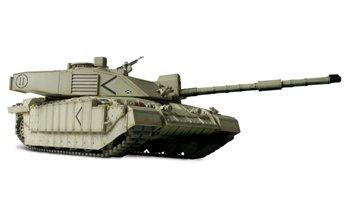 Forces of Valor UK Challenger II 1/72 Diecast Model