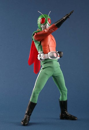 "Medicom RAH DX Mask Rider Sky Rider Later Ver12"" Figure"