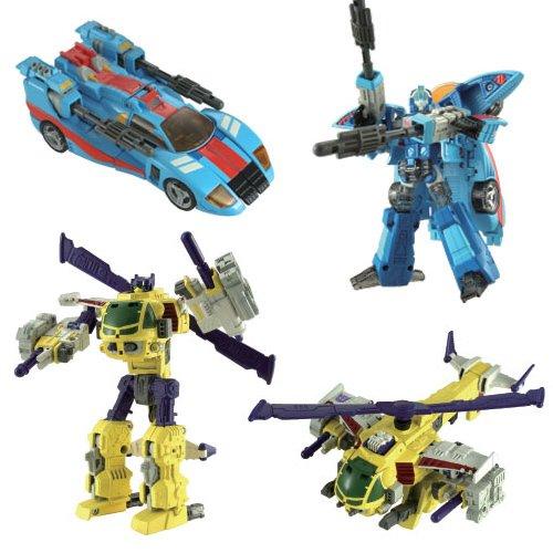 Transformers Galaxy Force Buz Saw & Blurr GS-01