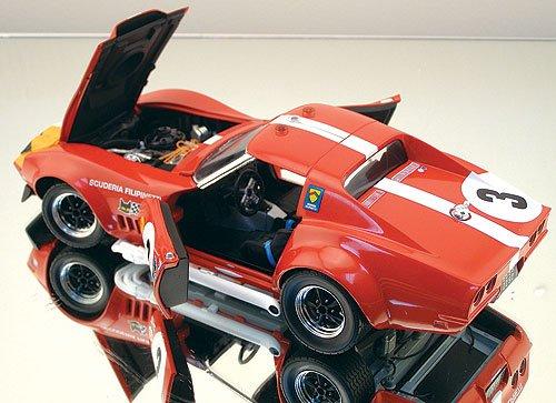 Carousel 1 1/18 Corvette L-88 1968 Le Mans #3 Maglioli