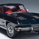 AutoArt 1/18 Chevrolet Corvette 1963 Coupe Daytona Blue Limited
