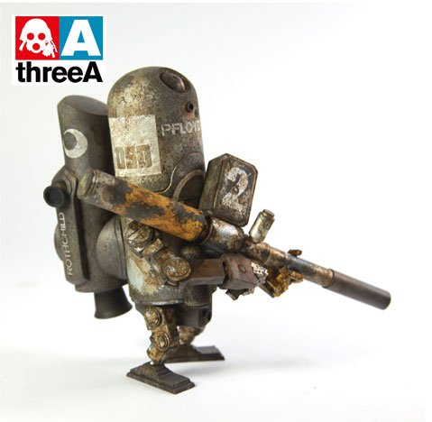 ThreeA WWRp Armstrong - Floyd 0G Collectible Figure