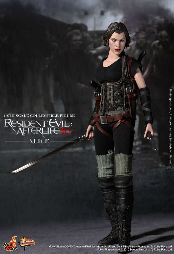 Hot Toys Resident Evil Afterlife Alice 12 Inch Figure