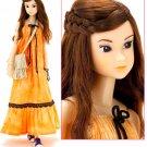 Momoko Doll Ethnic Flowerl Real Fashion Doll