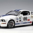 AutoArt 1/18 Ford Racing Mustang FR 500C Grand-Am Cup GS '2005, #05 Die-Cast Car