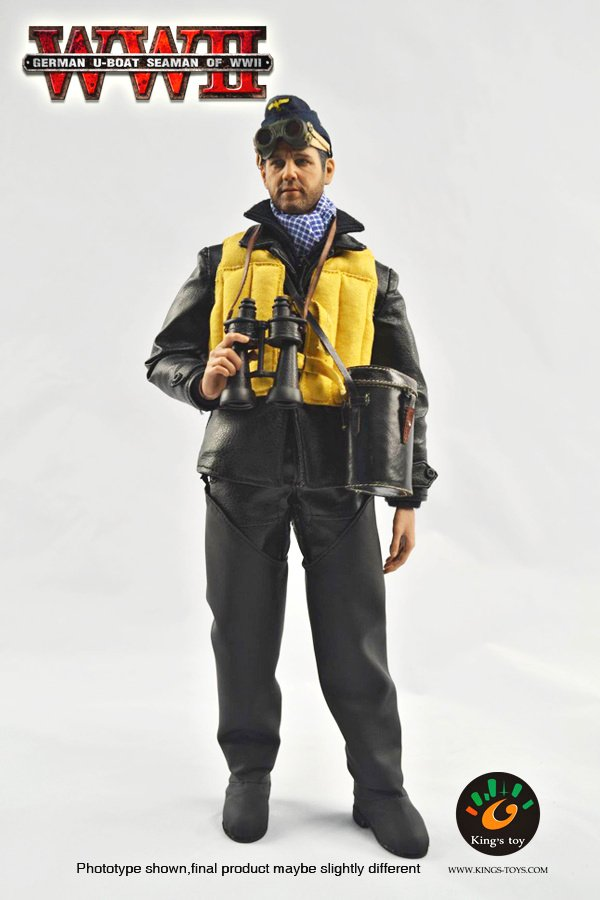King's Toys WWII German U-Boat Seaman 1/6 Scale 12 Inch ...
