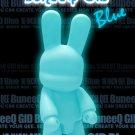 Toy2R 16 Inch Qee DIY GID Blue BuneeQ Vinyl Figure
