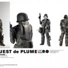 ThreeA Ashley Wood Barguest de Plume 1/6 Scale 12 Inch Collectible Figure