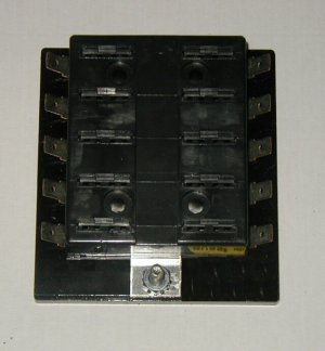 10 Fuse Panel without Grounds - uses ATO/ATC Fuses