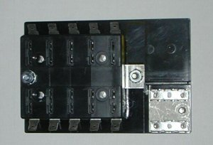 10 Fuse Panel WITH Grounds - uses ATO/ATC Fuses