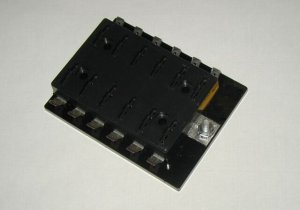 12 Fuse Panel without Grounds - uses ATO/ATC Fuses