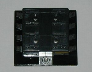 8 Fuse Panel without Grounds -  uses ATO/ATC Fuses