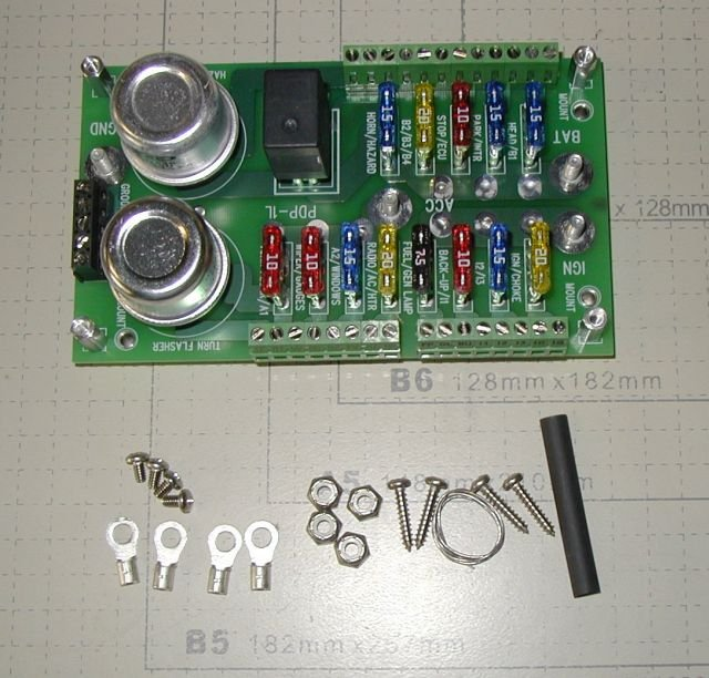 centech wiring pdp 1b fuse panel for hot rods and customs rat 32 34 rh autorewire ecrater com
