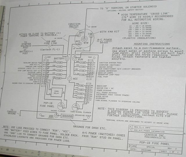 centech fuse box wiring diagrams  centech wiring harness diagram