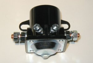 Early Style Ford Motor Company 4 Post Starter Solenoid