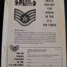 1955 AIR FORCE RECRUTING AD
