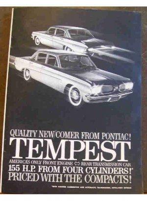 PONTIAC TEMPEST 1961 AD
