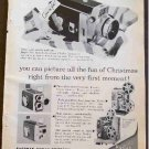 KODAK MOVIE 1960 CHRISTMAS AD