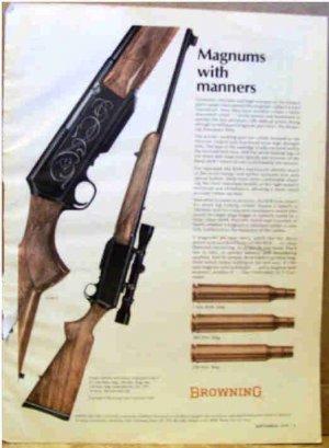 BROWNING RIFLE AD 1970