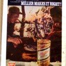 MILLER BEER AD 1970
