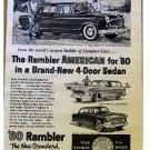 RAMBLER AMERICAN AD 1960