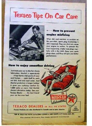 TEXACO AD 1955