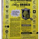 MOCRO BRONZE OIL FILTER AD 1955