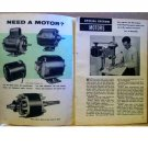 NEED A MOTOR ARTICLE 1955