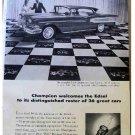 CHAMPION EDSEL AD 1957
